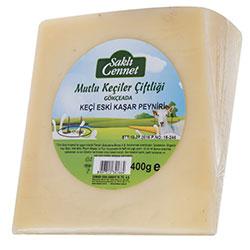 Saklı Cennet Organic Aged Kashar Cheese (Goat - Cow) 400g