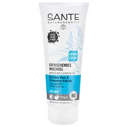 Sante Organic Refreshing Cleansing Gel (Aloe Vera & Chia Seed Oil) 100ml