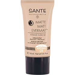 SANTE Organic Matte Matt Evermat Mineral Make up (01 Natural)