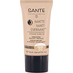 SANTE Organic Matte Matt Evermat Mineral Make up (02 Sand)