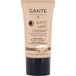 SANTE Organic Matte Matt Evermat Mineral Make up (03 Golden)