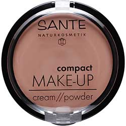 SANTE Organic Cream Foundation Compact Make up (03 Faw, Cream/Powder)