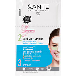 SANTE Organic 3in1 Multimasking 3x3ml