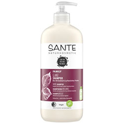 Sante Organic Family Shine Shampoo (Birch Leaf & Plant Protein) 500ml