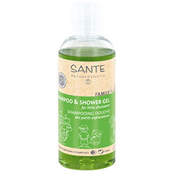 SANTE Organic Kids Shampoo & Shower Gel (Marigold & Aloe Vera) 200ml