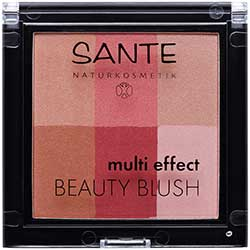 SANTE Organic Multi Effect Beauty Blush (02 Cranberry)