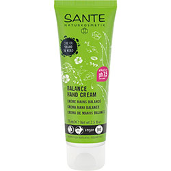 Sante Organic Balanced Hand Cream (Almond Oil & Aloe vera) 75ml