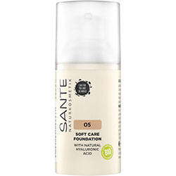 SANTE Organic Soft Care Foundation (05 Cool Beige) 30ml