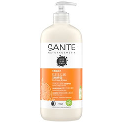 Sante Organic Strength & Shine Shampoo (Orange & Coconut) 500ml