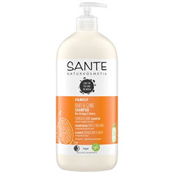 Sante Organic Strength & Shine Shampoo (Orange & Coconut) 950ml
