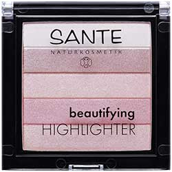 SANTE Organic Beautifying Highlighter (02 Rose)