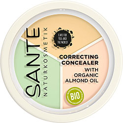 SANTE Organic Correcting Concealer Cream / Powder