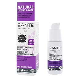 Sante Organic Instantly Smoothing Night Cream (Tea Complex & Paracress) 30ml