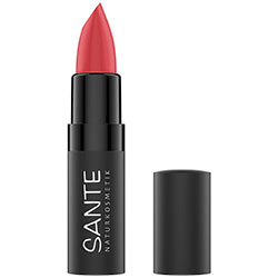 SANTE Organic Matte Lipstick (06 Bright Papaya)