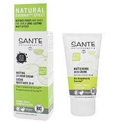 Sante Organic Matting 24 Hour Cream (Grapefruit & EvermatTM) 50ml