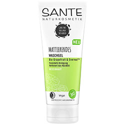 Sante Organic Mattifying Cleansing Gel (Grapefruit & Evermat) 100ml