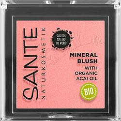 SANTE Organic Mineral Blush (01 Mellow Peach)