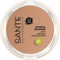 SANTE Organic Mineral Bronzer (Cacao Butter)
