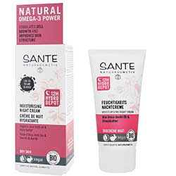 Sante Organic Moisturising Night Cream (Inca Inchi Oil & Shea Butter) 50ml