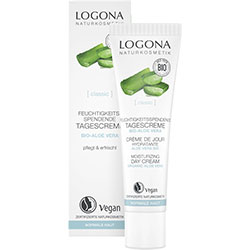 Logona Organic Moisturizing Day Cream (Aloe Vera) 30ml