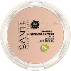 SANTE Organic Natural Compact Powder (01 Cool Ivory)