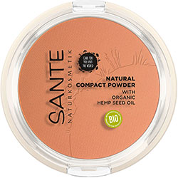 SANTE Organic Natural Compact Powder (03 Warm Honey)