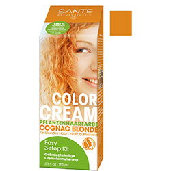 SANTE Organic Herbal Hair Color Cream (Cognac Blonde) 150g