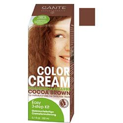 SANTE Organic Herbal Hair Color Cream (Cocoa Brown) 150g