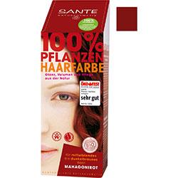 SANTE Organic Herbal Hair Color Cream (Mahogany Brown) 150g