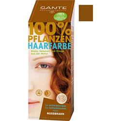 SANTE Organic Herbal Hair Colors Powder (Nut Brown) 100g