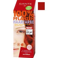 SANTE Organic Herbal Hair Colors Powder (Natural Red) 100g