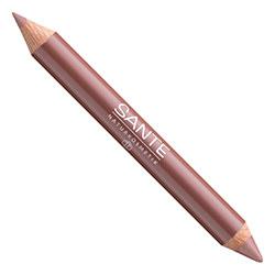 SANTE Organic Lip Duo Contour & Gloss (01 Nude)