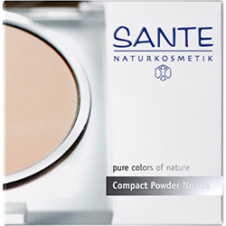 SANTE Organic Compact Powder (01 Porcell)
