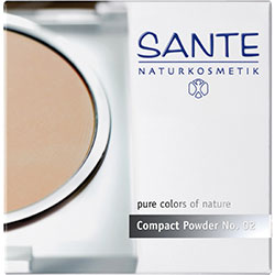 SANTE Organic Compact Powder (02 Light sand)