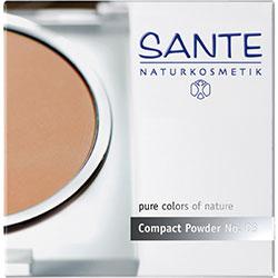 SANTE Organic Compact Powder (03 Gold Beige)