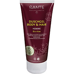 SANTE Organic Homme Body & Hair Shower Gel (Aloe Vera) 200ml