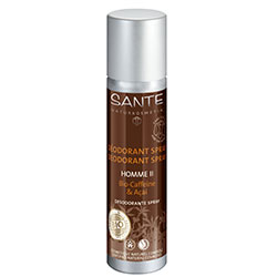 SANTE Organic Homme II Deodorant Spray (Caffeine & Acai) 100ml
