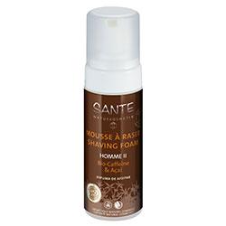SANTE Organic Homme II Shaving Foam (Caffeine & Acai) 150ml