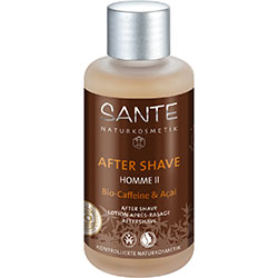 SANTE Organic Homme II After Shave (Caffeine & Acai) 100ml