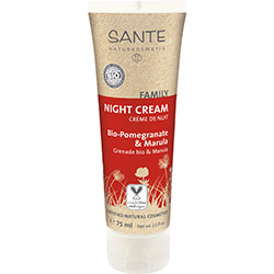 Sante Organic Night Cream (Family, Pomegranate & Marula) 75ml