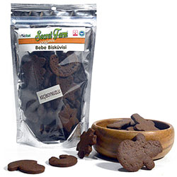 Secret Farm Organic Biscuit (With Carob) 80g