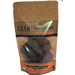 Secret Farm Organic Biscuit with Butter & Carob 100g