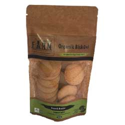 Secret Farm Organic Biscuit with Butter 100g