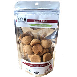 Secret Farm Organic Biscuit With Grapes 45g