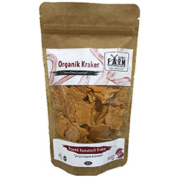 Secret Farm Organic Leaf Rusk (Tomato) 100g