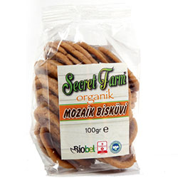 Secret Farm Organic Mosaic Biscuit 100g