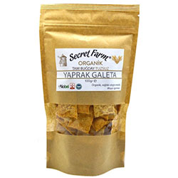 Secret Farm Organic Leaf Rusk (Whole Wheat, Saltless) 100g