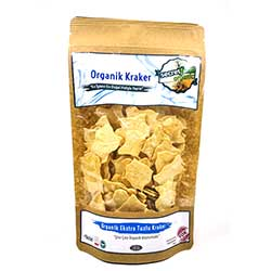 Secret Farm Organic Leaf Rusk (Extra Salty) 100g