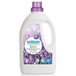 SODASAN Organic Laundry Liquid Detergent (COLOR, Lavender) 1,5L