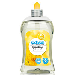 SODASAN Organic Washing-up Liquid (Lemon) 500ml